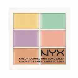 innoxa cover & correct cream concealer face palette review