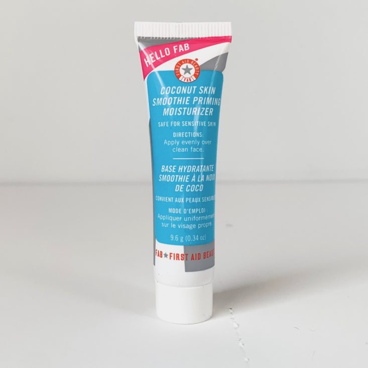 first aid beauty priming moisturizer review
