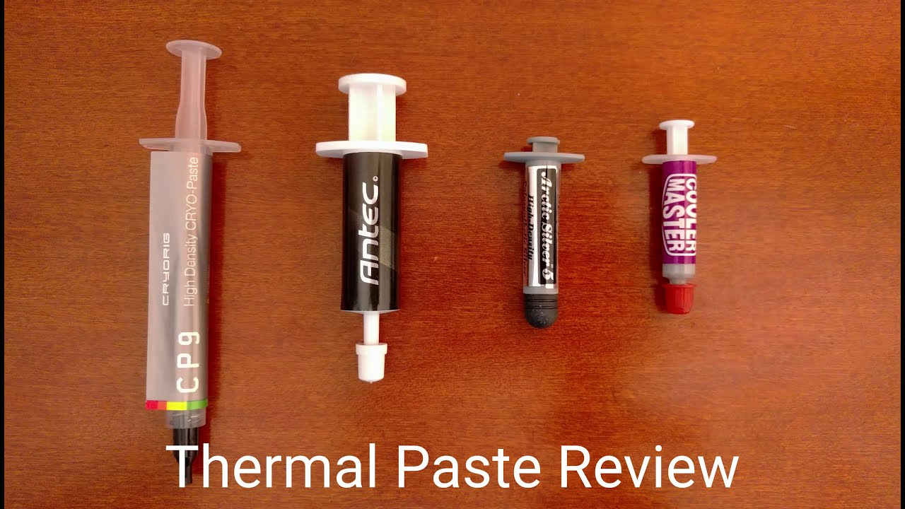 cooler master thermal paste review