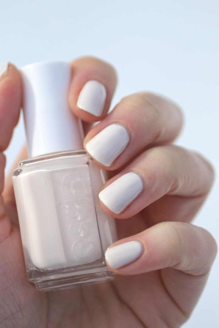 essie white nail polish review