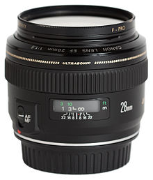 canon ef 28mm f1 8 usm review