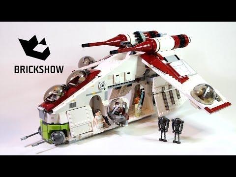 lego star wars republic gunship review