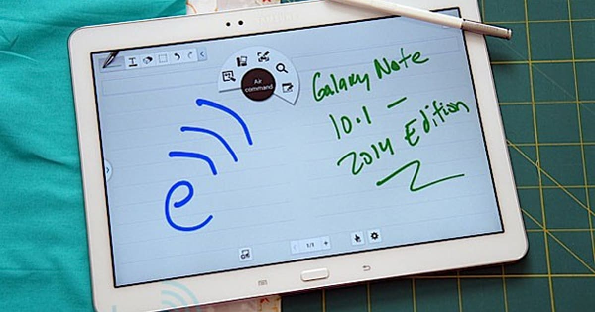 samsung tablet 10.1 review 2014