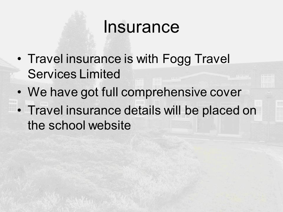 insure and away travel insurance review