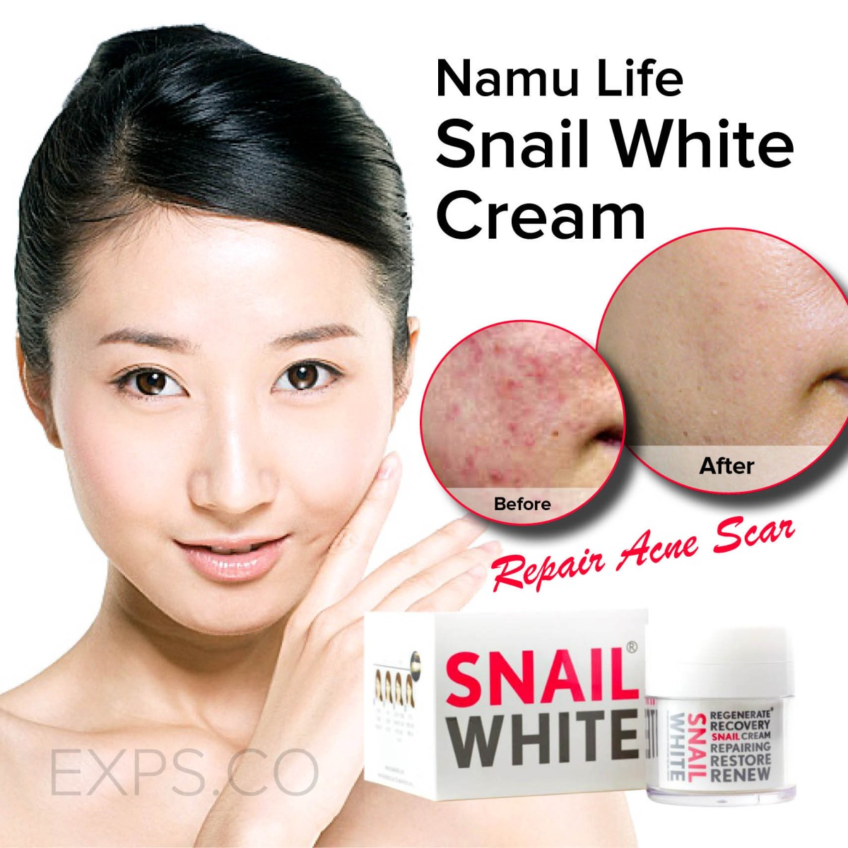 snail white body lotion review