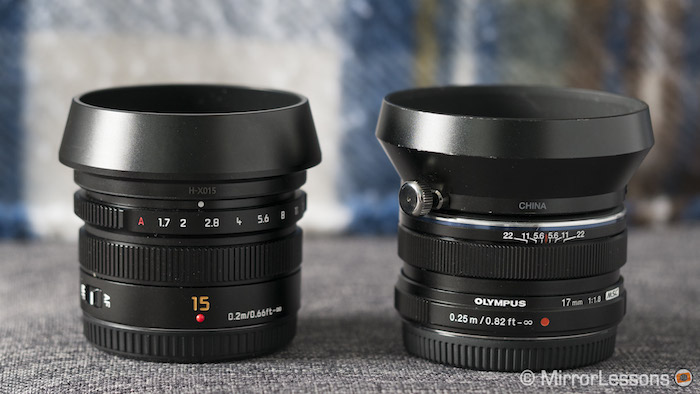 panasonic 17mm 1.7 review