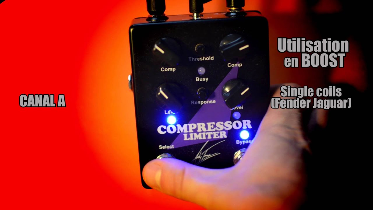 carl martin andy timmons compressor limiter review