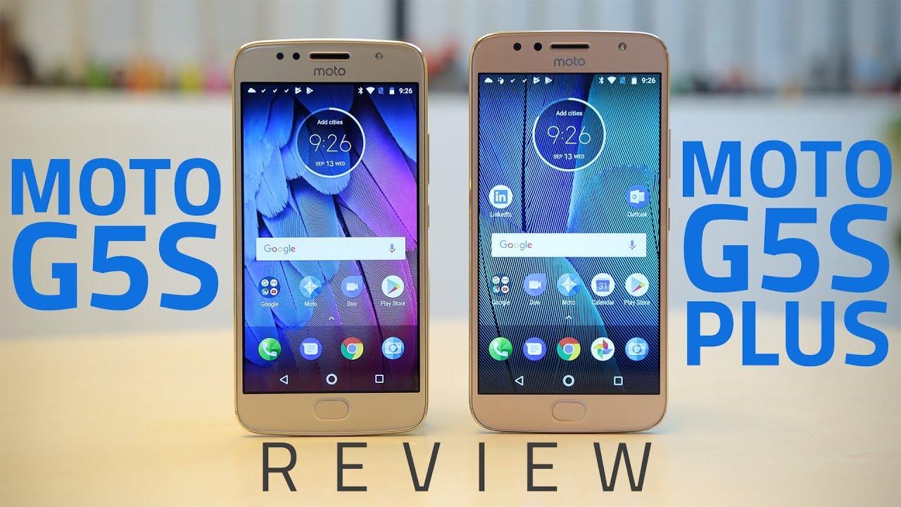 moto g5s vs g5s plus review