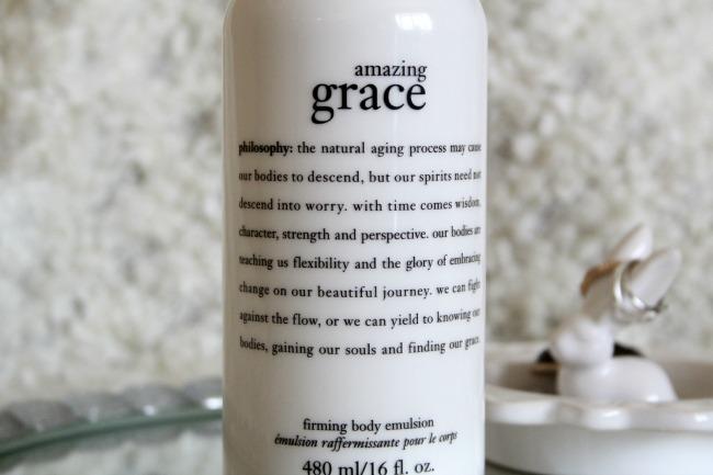 philosophy amazing grace lotion review