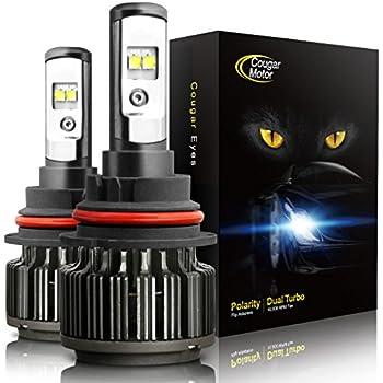 cougar motor led headlight bulbs review