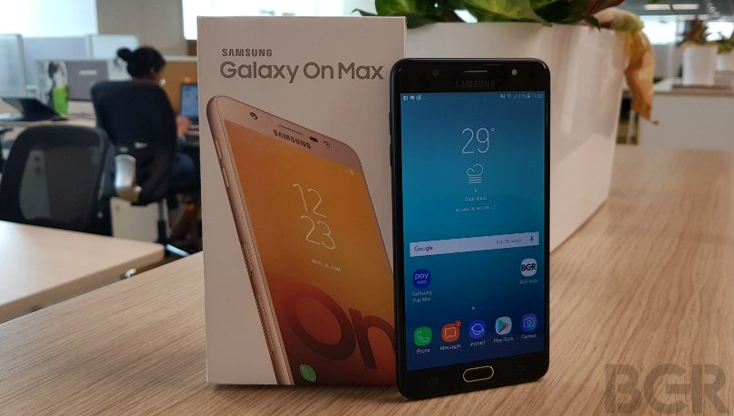 samsung galaxy on max review