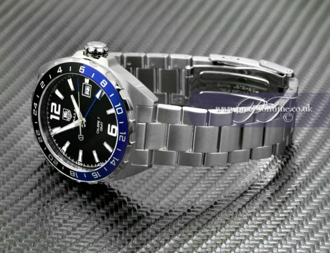 tag heuer formula 1 gmt review