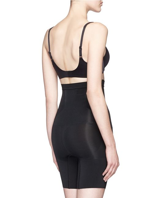 oncore high waisted mid thigh short reviews