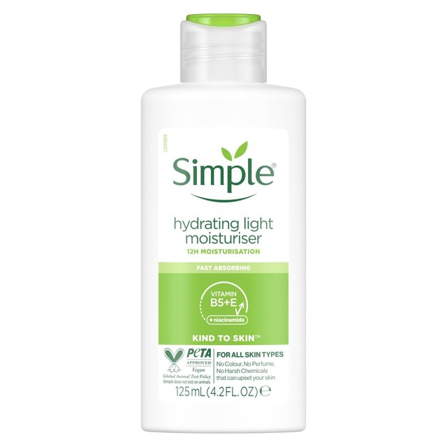 simple kind to skin hydrating light moisturiser review