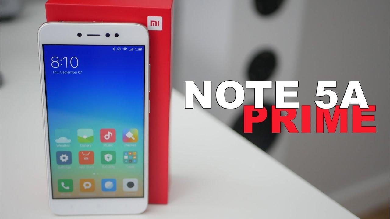 review xiaomi redmi note 5a prime