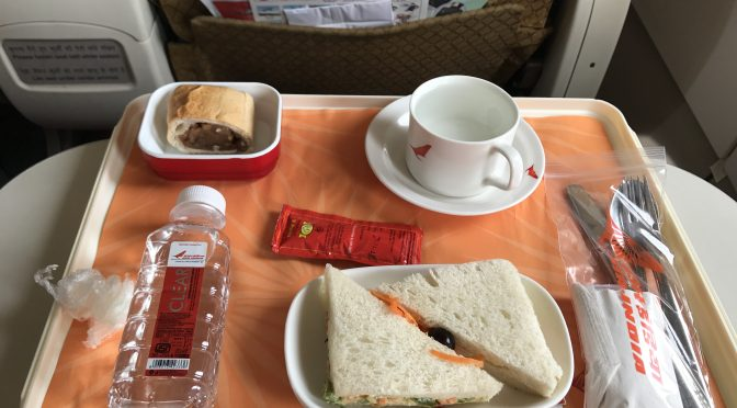 air india economy class review