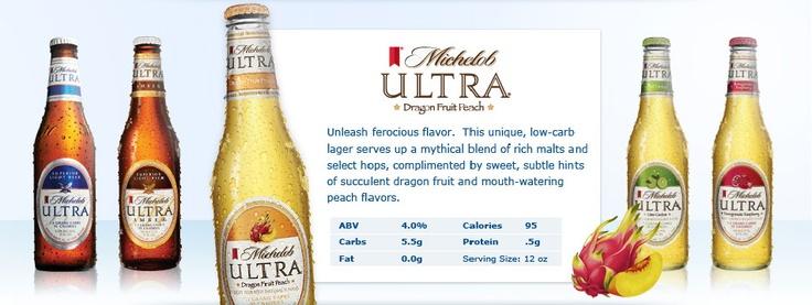 michelob ultra dragon fruit peach review