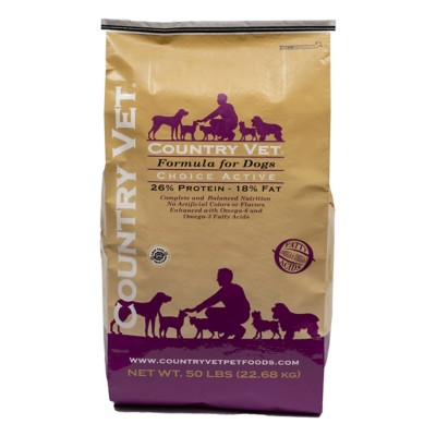 country vet dog food review