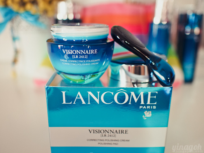 lancome visionnaire polishing cream review