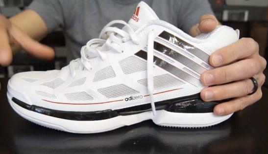 adidas adizero crazy light low review