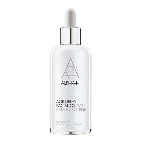alpha h age delay facial oil review