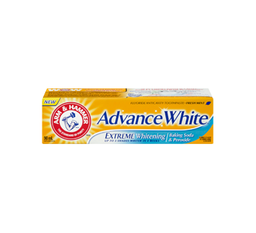 arm & hammer advance white toothpaste review