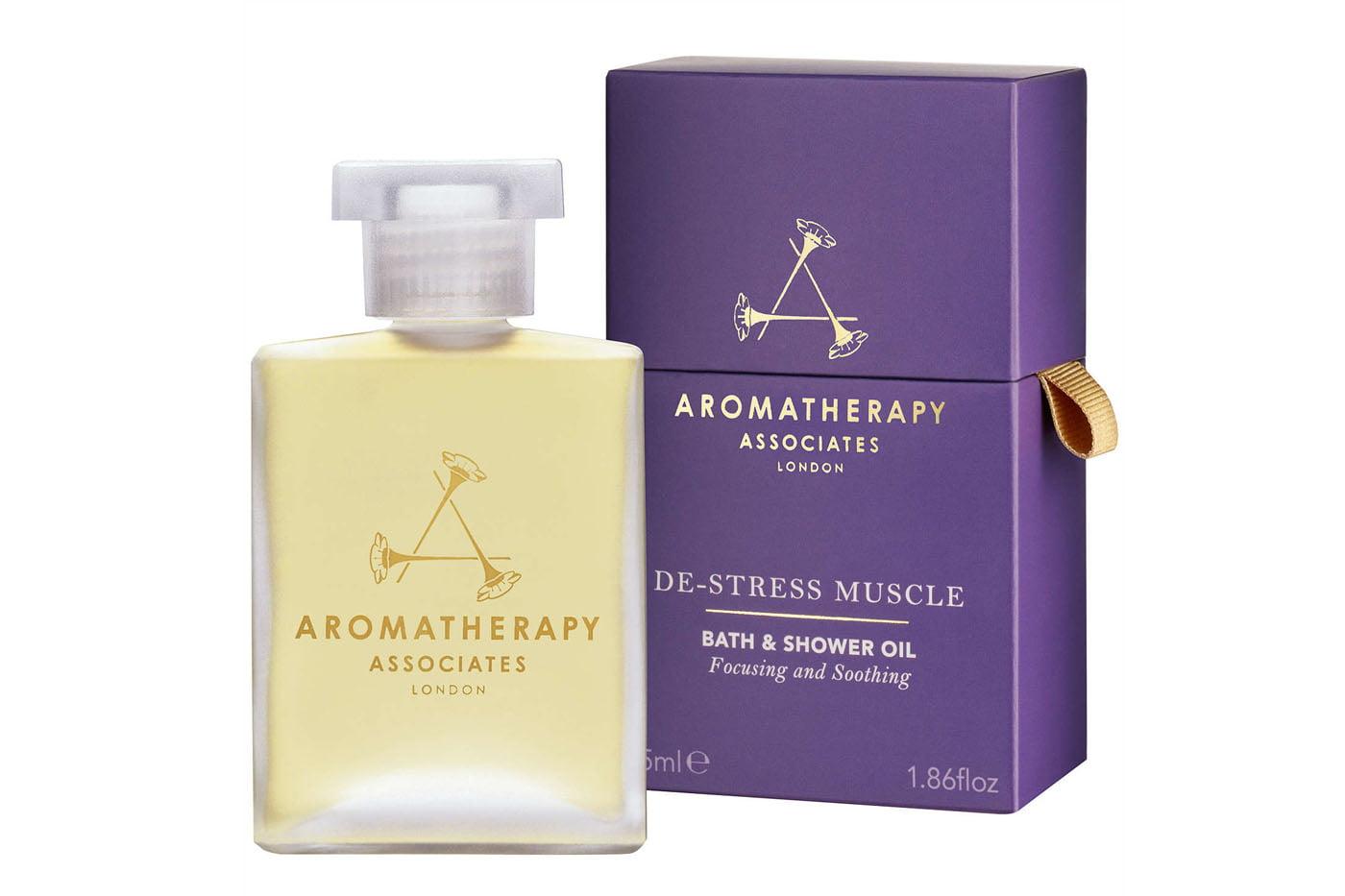 aromatherapy associates destress muscle gel review