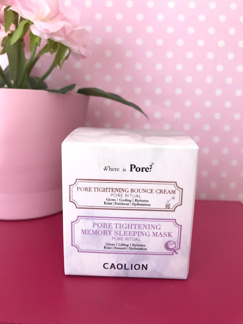 caolion pore tightening day & night glowing duo review
