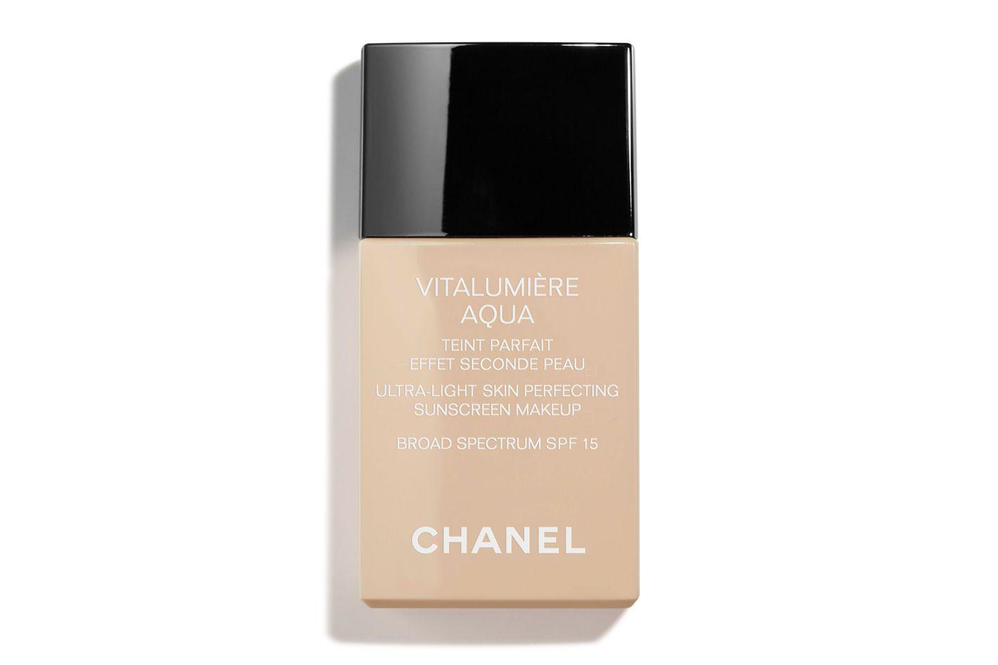 chanel vitalumiere aqua review dry skin
