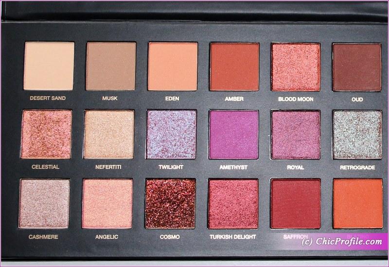 huda beauty desert dusk palette review