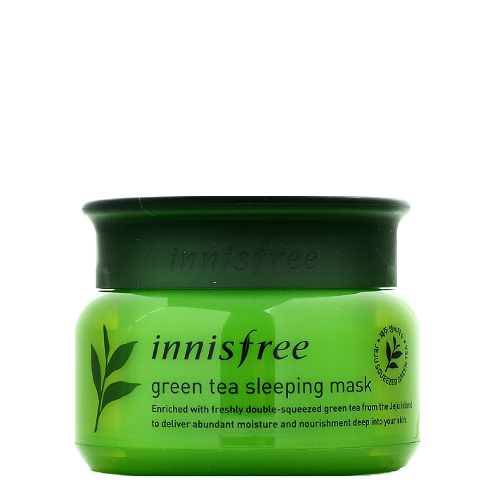 innisfree green tea sleeping mask review