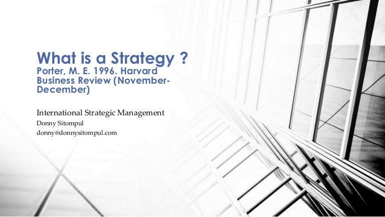 judo strategy harvard business review