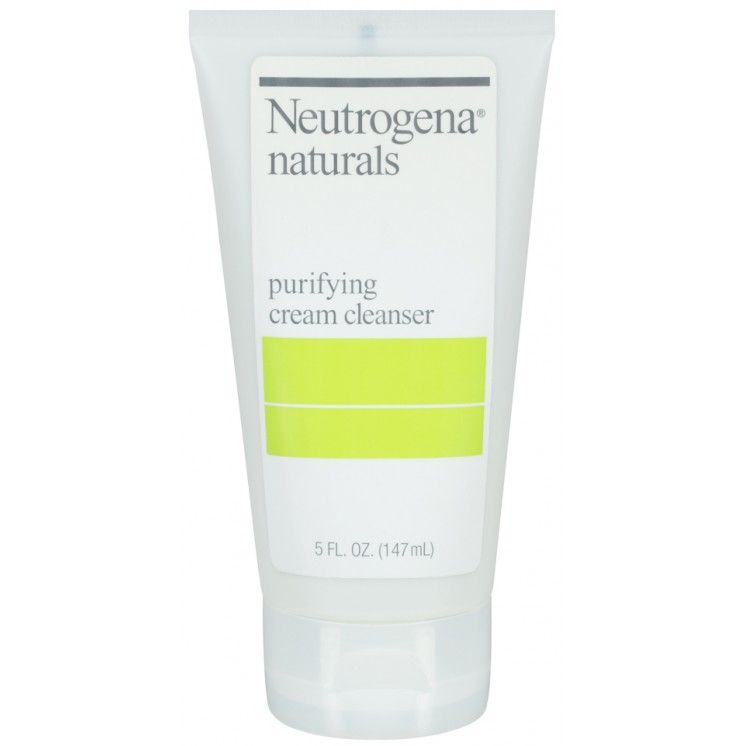 neutrogena naturals purifying cream cleanser review