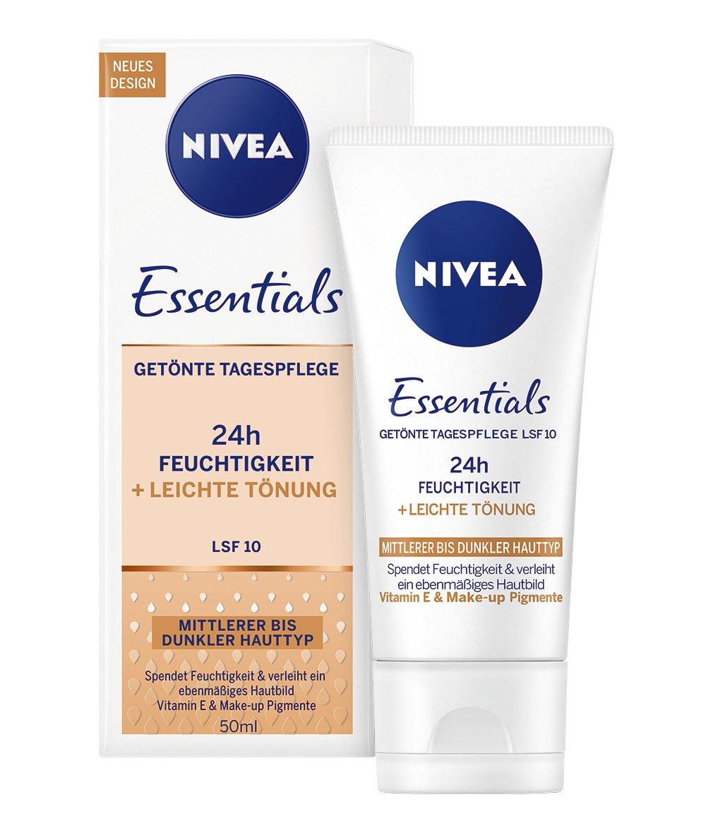 nivea visage tinted moisturiser review