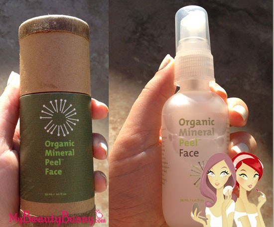 org skincare mineral peel face review