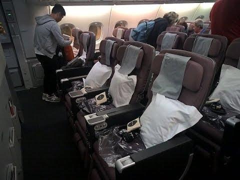 qantas a380 premium economy review
