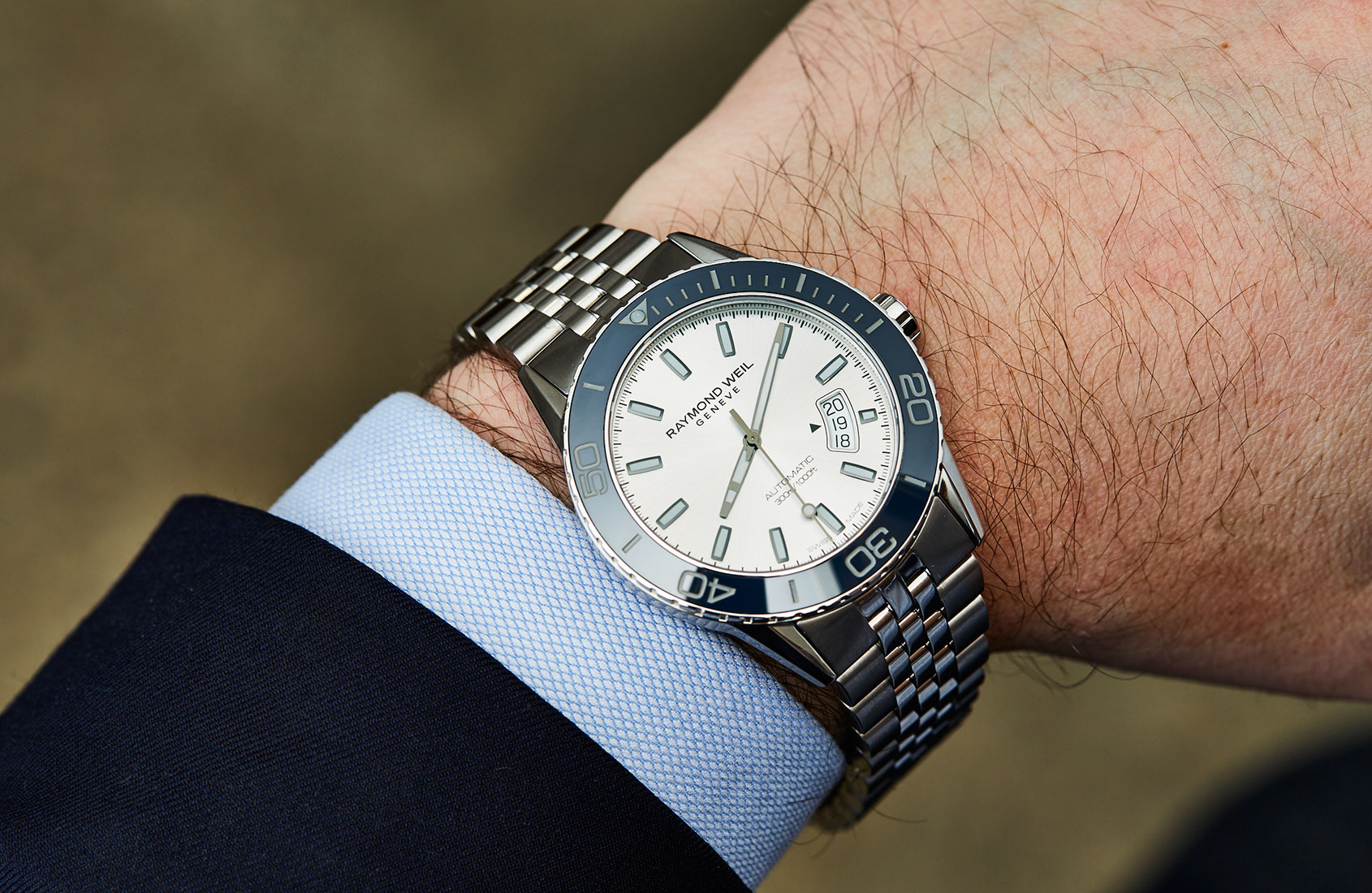 raymond weil freelancer automatic review