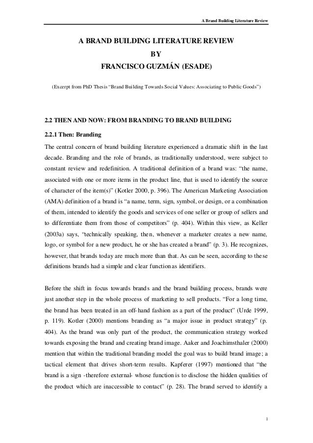 review of related literature sample thesis pdf