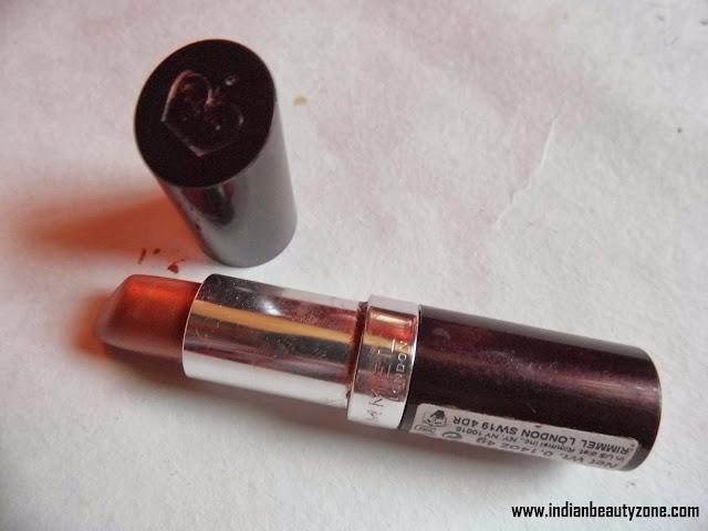 rimmel lasting finish lipstick review india