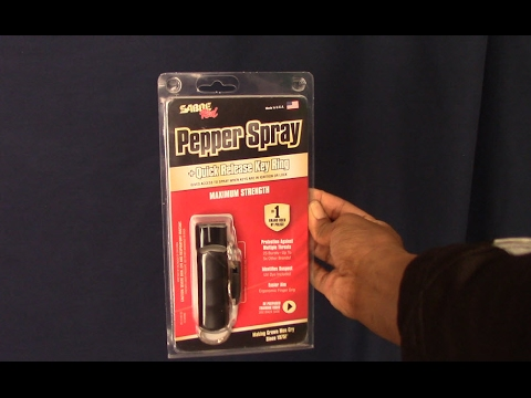 sabre red pepper spray review