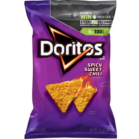 spicy sweet chili doritos review