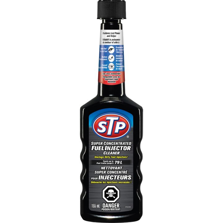 stp super concentrated fuel injector cleaner review