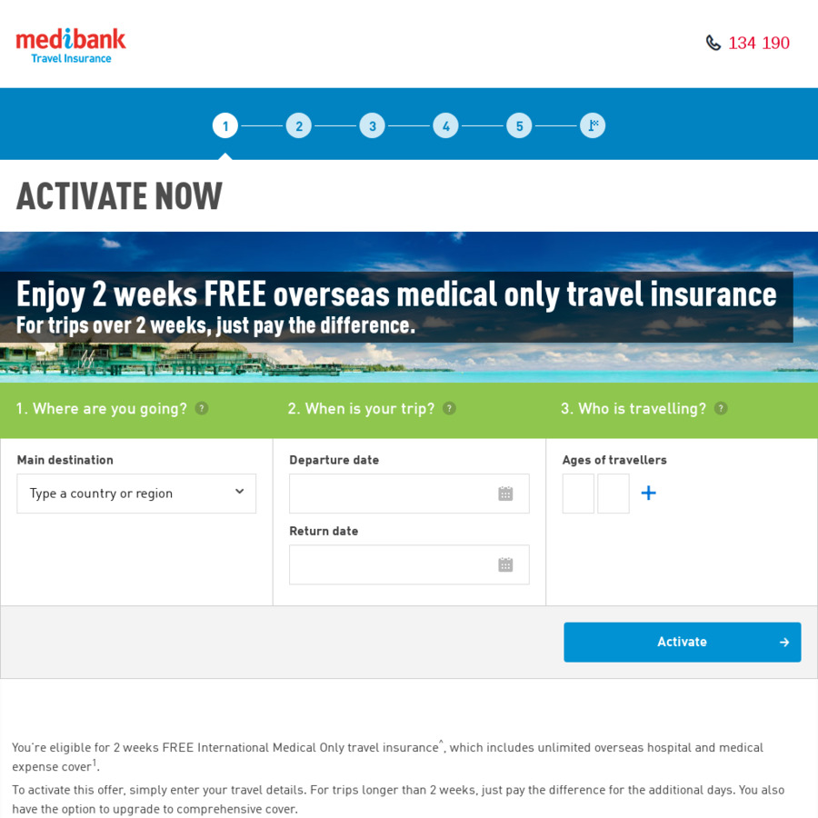 travel insurance medibank private review